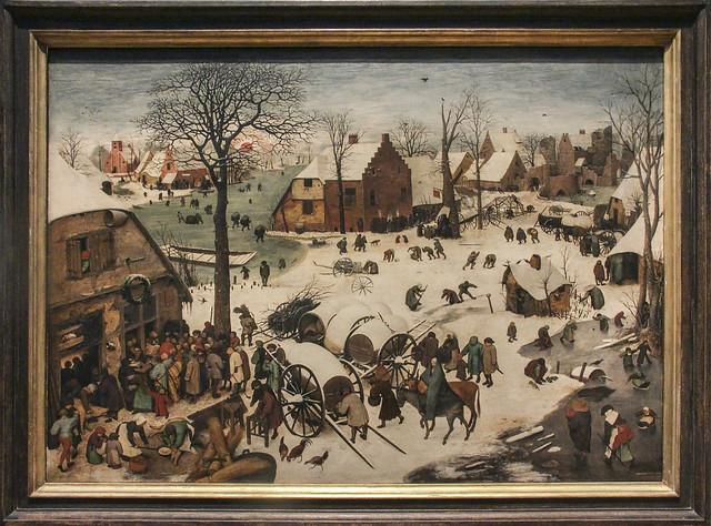 The Census at Bethlehem, Pieter Brueghel I