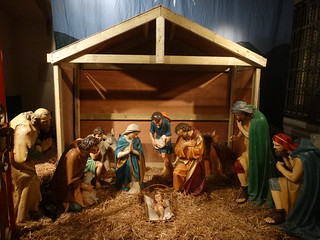 Cathedral Crib scene
