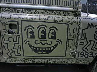 Keith Haring - Land Rover (3380)