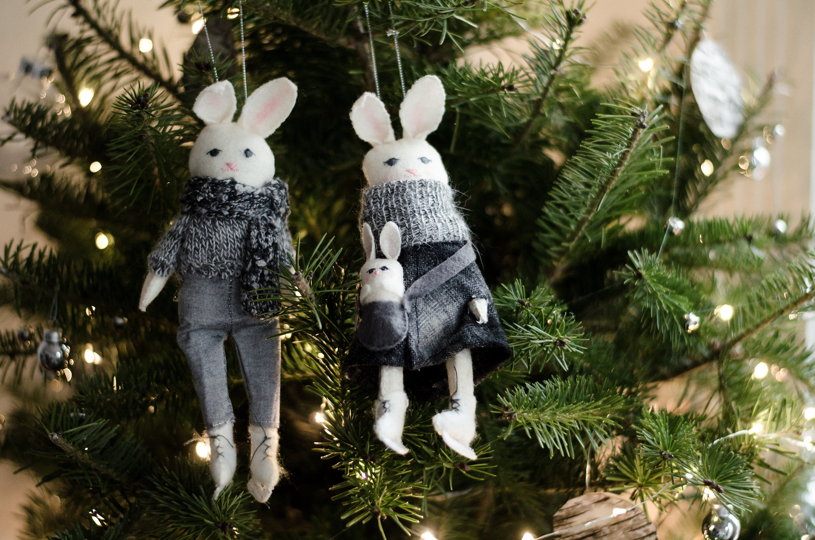 Bunny Family by Erika Barratt for West Elm on juliettelaura.blogspot.com