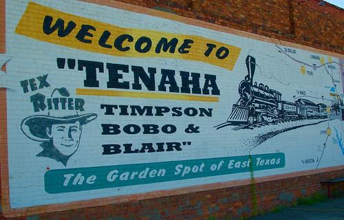 Welcome to Tenaha, Timpson, Bobo & Blair