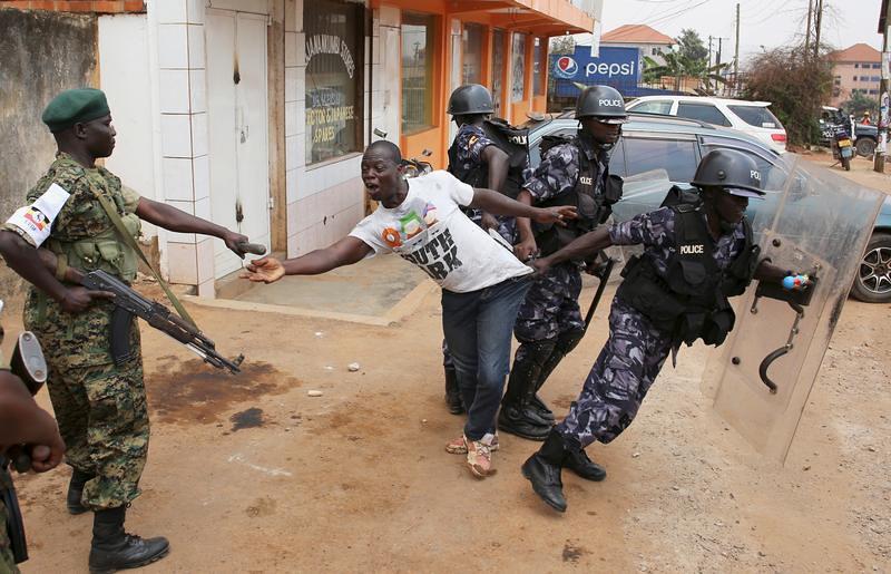 UGANDA-ELECTION/VIOLENCE