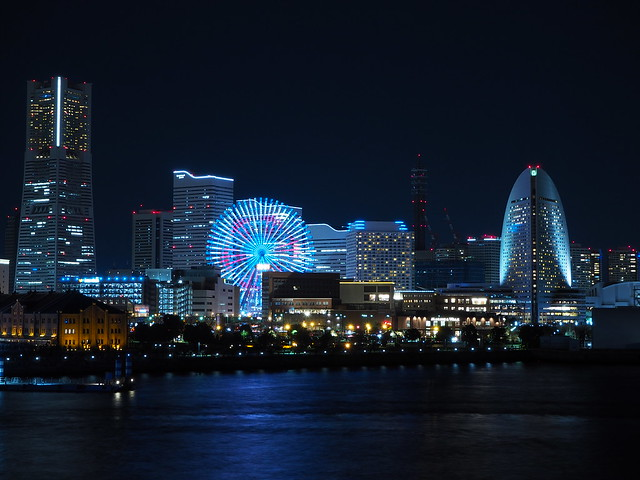 Yokohama City Night at Christmas Eve 2016 (35)