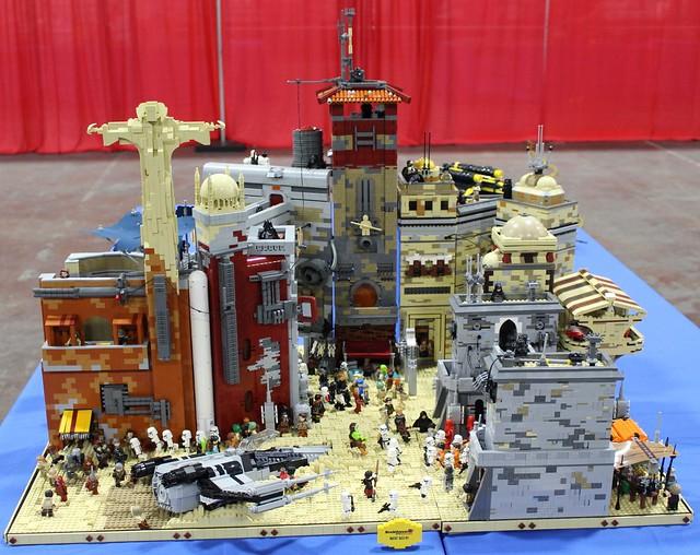 Diorama LEGO Star Wars Rogue One