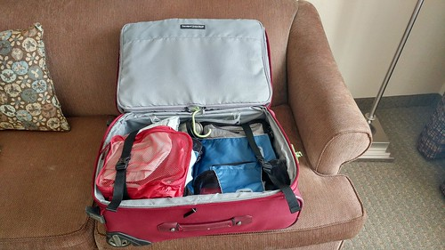 5 Packing a Suit: Zipper Up Suitcase