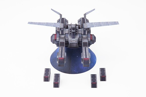 Gundam Thunderbolt- Papercraft Spartan