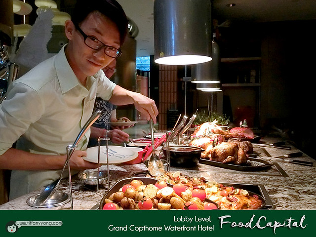 Grand Copthorne Waterfront Food Capital Christmas Buffet Peps Goh