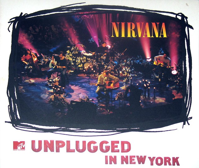 "NIRVANA Unplugged in New York MTV 12"" vinyl LP"