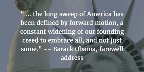 Barack Obama words