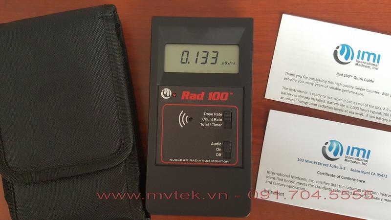 Máy đo phóng xạ Rad 100