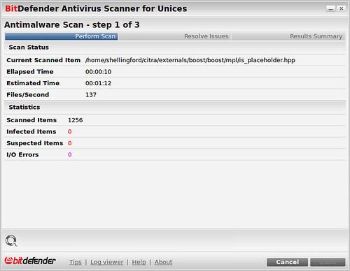 BitDefender Antivirus Scanner for Unices_015