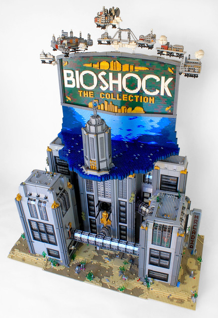 BioShock Revisited Full View Buildings Closed