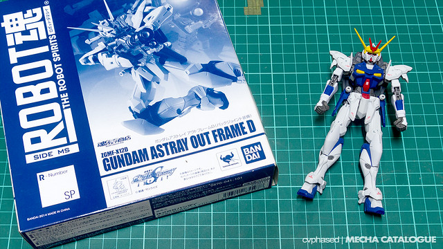 Tap That Top Coat! THE ROBOT SPIRITS Gundam Astray Out Frame D