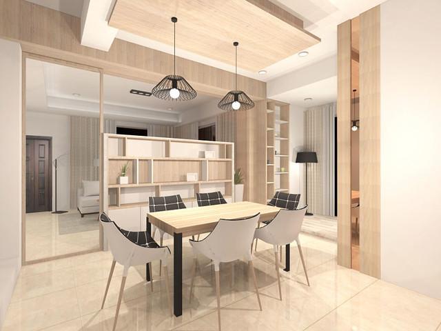 3D室內繪圖設計作品-綠生活-吳公館