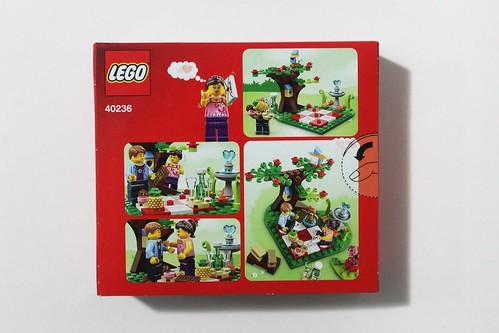 LEGO Seasonal Romantic Valentine Picnic (40236)