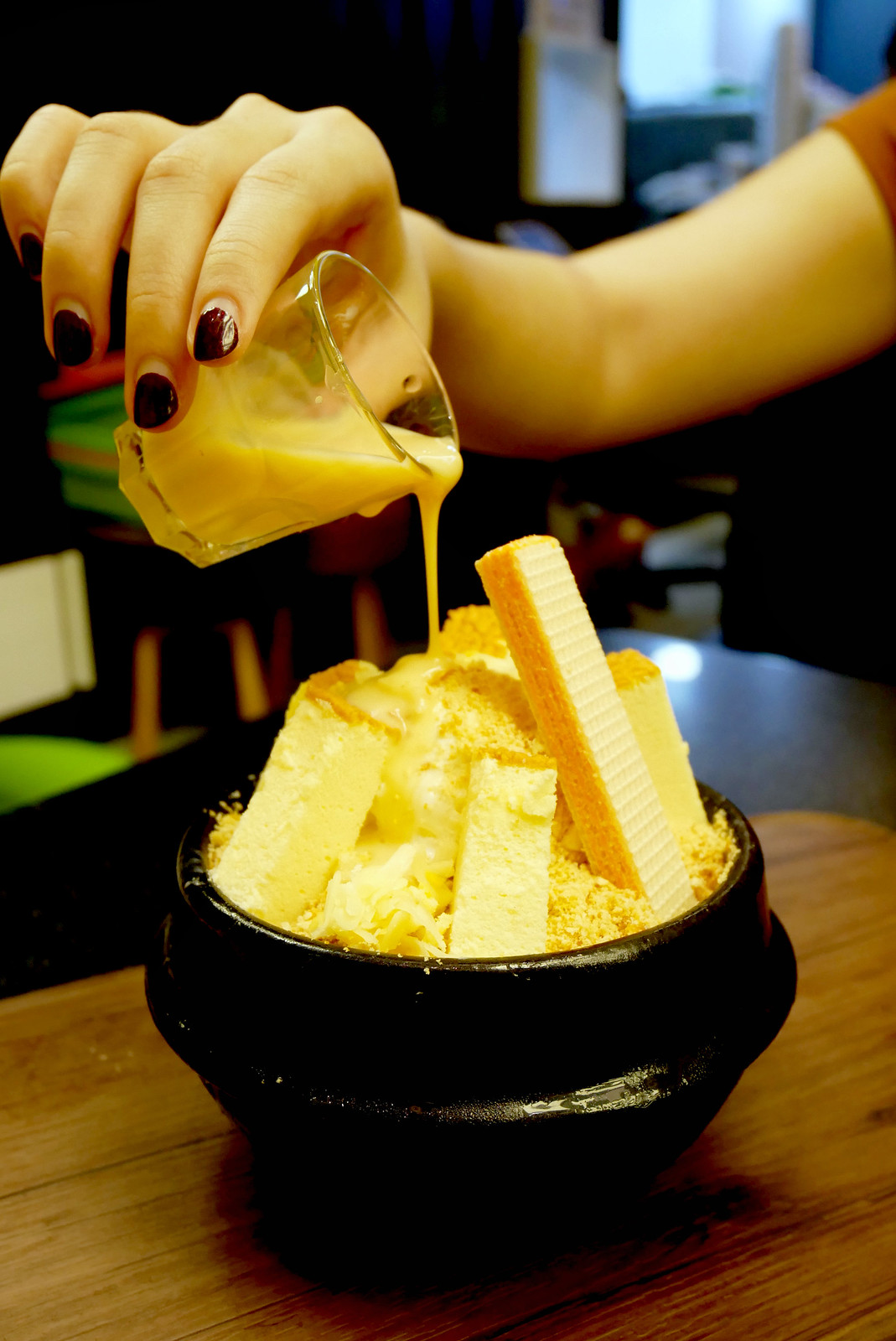 CHEESY Korean Food: Cheese Bingsoo