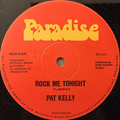 PAT KELLY:ROCK ME TONIGHT(LABEL SIDE-A)