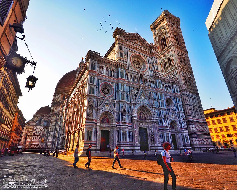 Florence Cathedral and the Bell Tower of Giottto