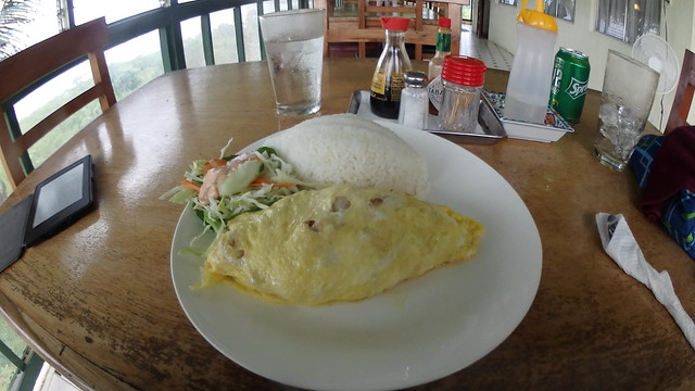 Tuna Omelet at South Park Hotel