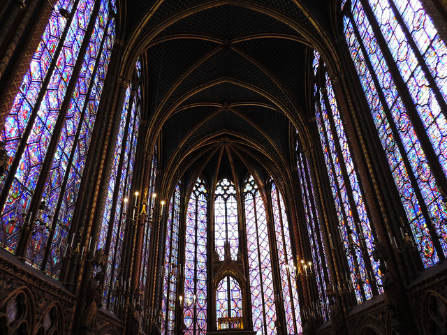 Best Photos Of 2016: Sainte Chapelle, Paris, France