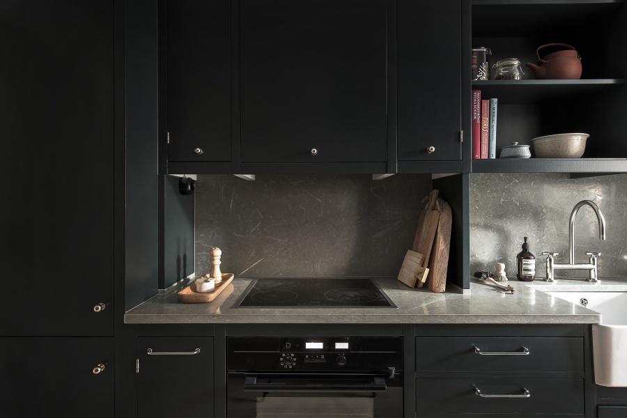 Modern Dark Minimalist Home