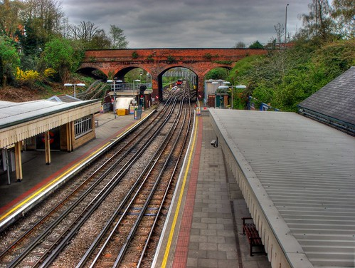 HDR - Finchley Central Tube
