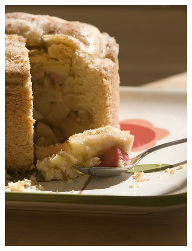 apple rhubarb shortcake | by Lara Ferroni