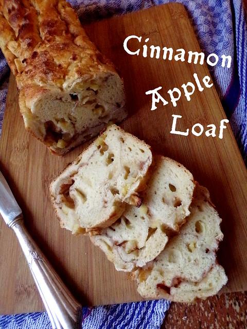 Cinnamon Apple Loaf Recipe - Hedgefairy Tales - https://hedgefairy.wordpress.com