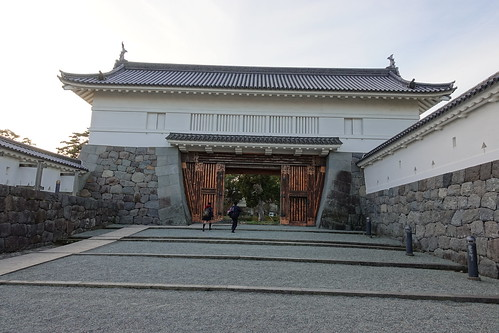 Akagane gate 銅門
