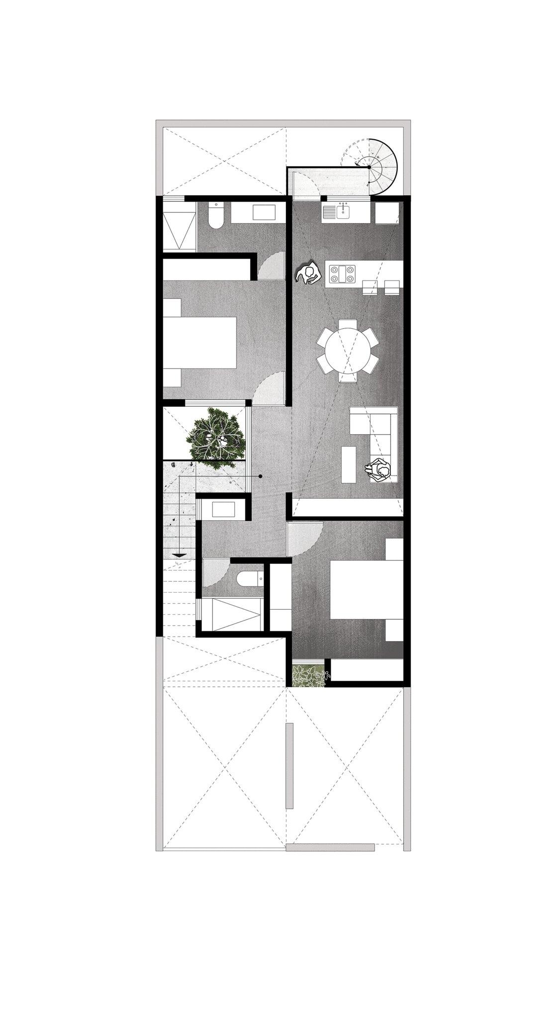 Mexican studio created by Intersticial Arquitectura Sundeno 11
