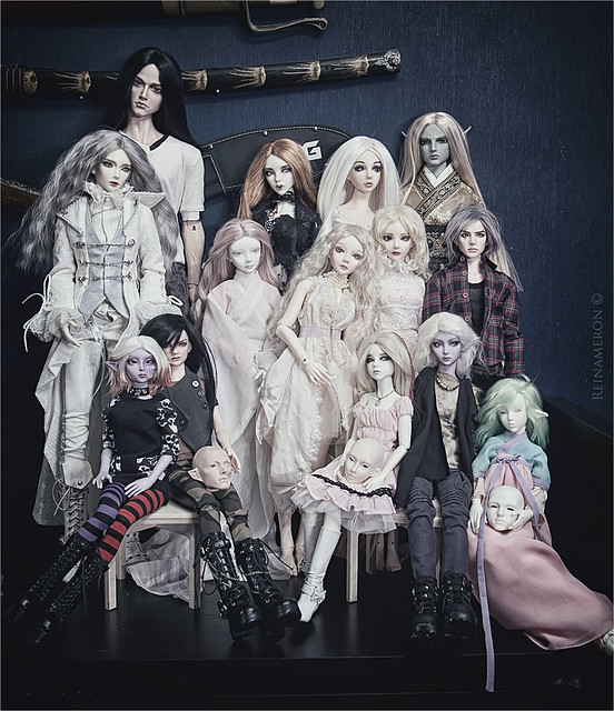 Souldoll dolls. Meeting