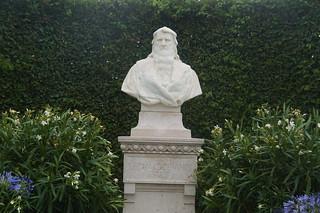053 Borstbeeld Da Vinci Kasteel Amboise