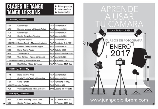 Revista Punto Tango 122 Diciembre 2016 - 5