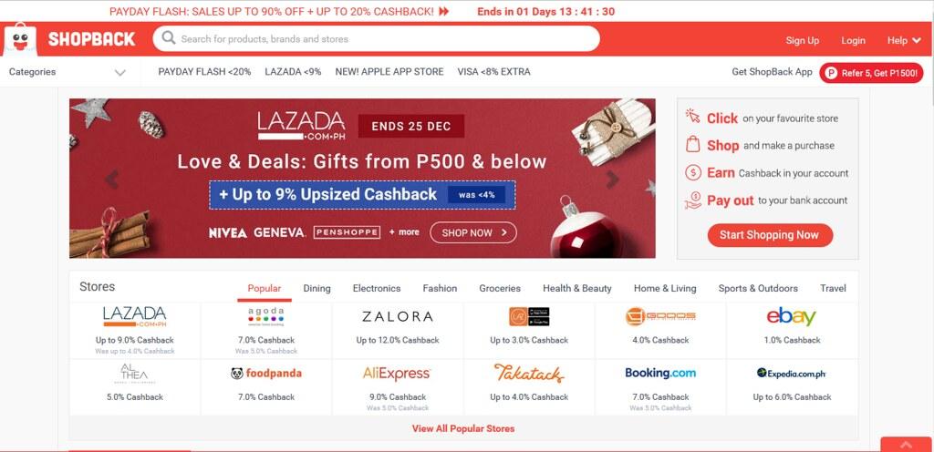 shopback website