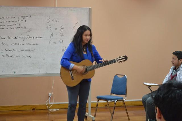 Consejo Nacional de la Cultura y las Artes realizó talleres en el CEAT