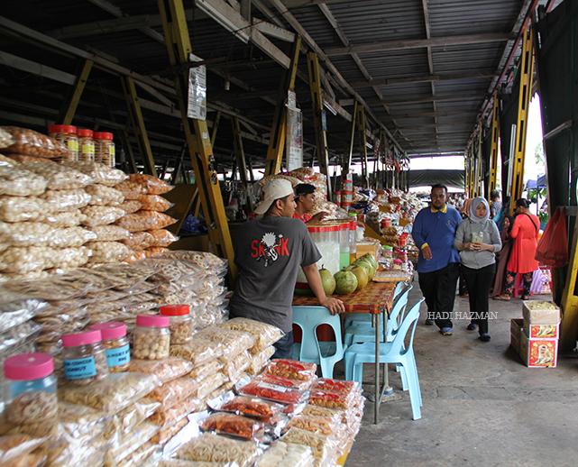 Pasar Filipin stalls