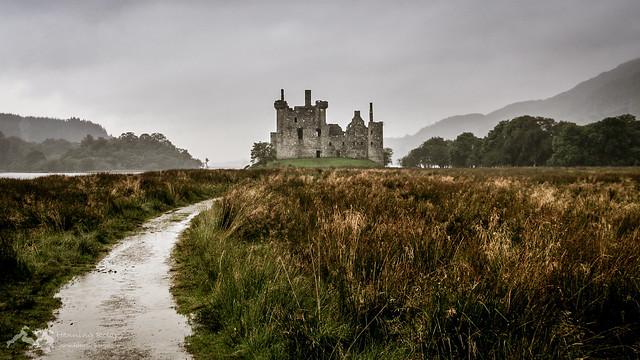 Ein Pfad zum Kilchurn Castle