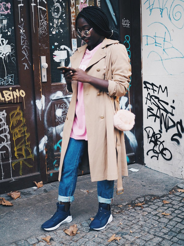 Lois Opoku Foot locker week of greatness puma sneaker street style lisforlois
