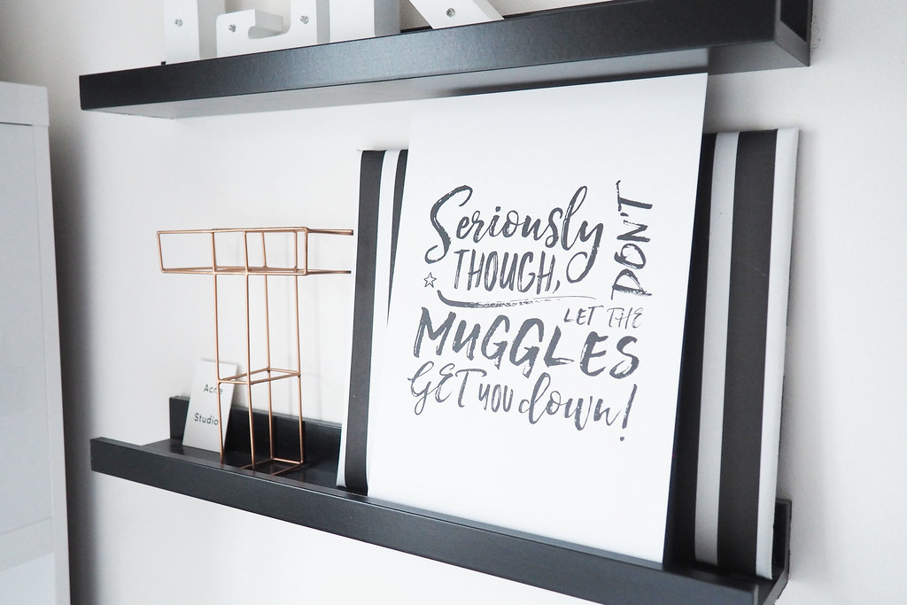 harry potter muggle quote print