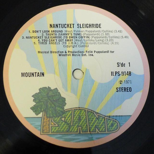 "MOUNTAIN Nantucket Sleighride UK GATEFOLD 12"" LP VINYL"