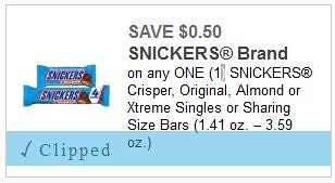Stock Up on Snickers