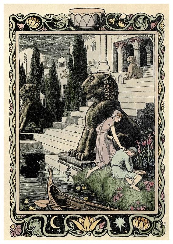 010- El muchacho con la luna en la frente-Cuentos de hadas indios-1892- John Batten