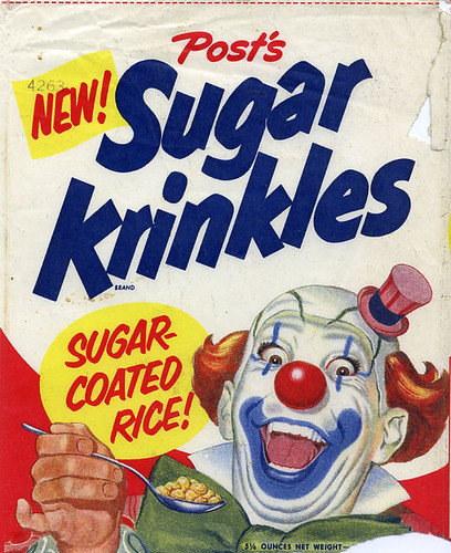 Sugar Krinkles cereal box | by grickily