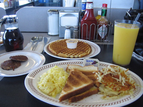Waffle Place Near Tupelo Honey Cafe