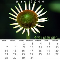 You Grow Girl: May 2006 Calendar | by yougrowgirl