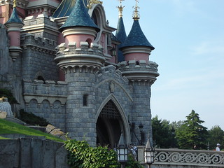 The Sleeping Beauty Castle Detail | by nickirp