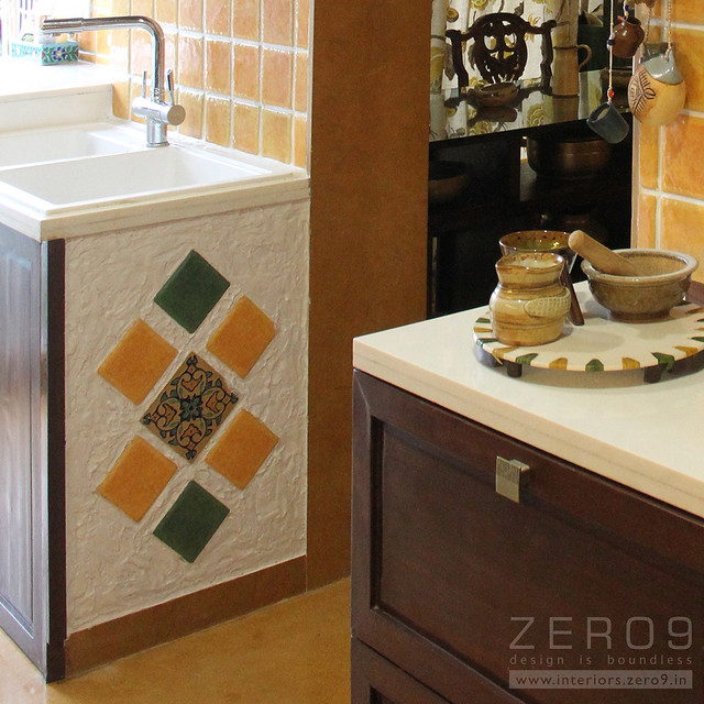 kitchen tile inserts natural stone