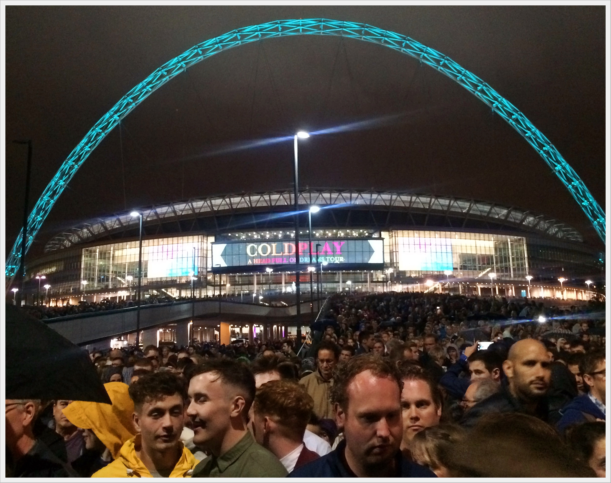 09_2016 - Coldplay at Wembley