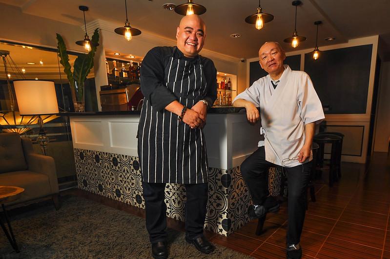 Chefs Marco Legasto and Yoshimi Igarashi