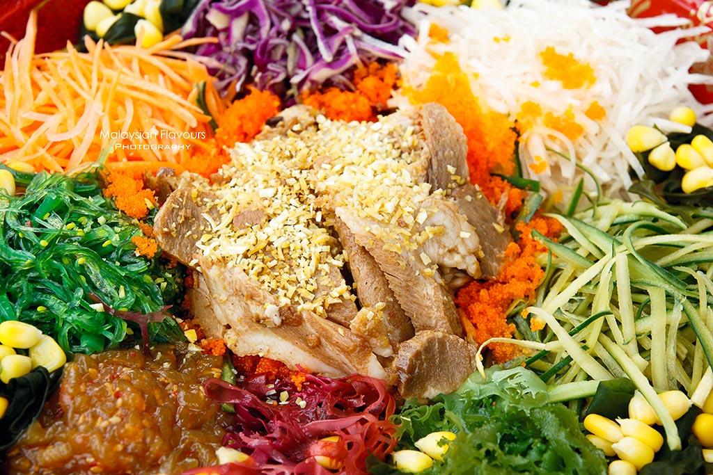 the bowls chinese new year yee sang